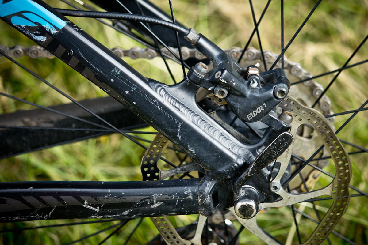 Elixir 1 Brakes on Naish Ulmer's Giant Reign  - Even More Enduro Bikes from 2013 Hood River Oregon Enduro - Mountain Biking Pictures - Vital MTB