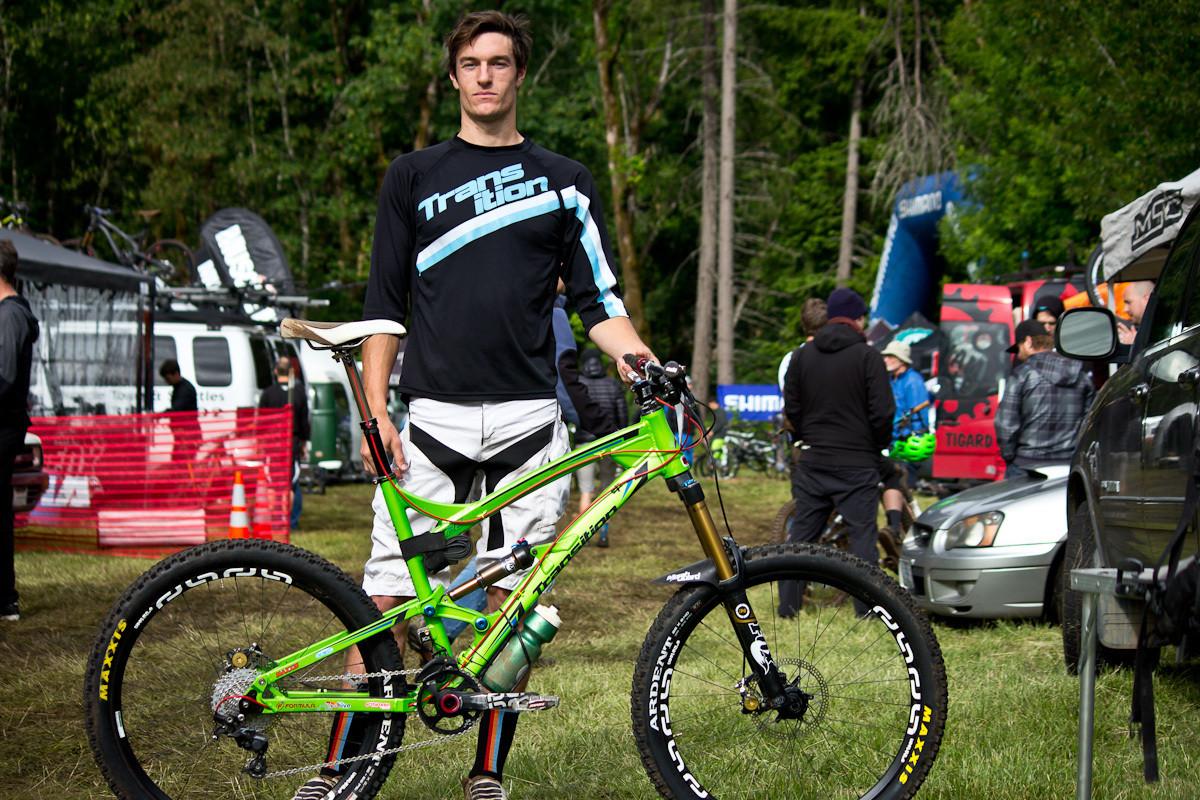 Ben Furbee's Transition Covert - Even More Enduro Bikes from 2013 Hood River Oregon Enduro - Mountain Biking Pictures - Vital MTB