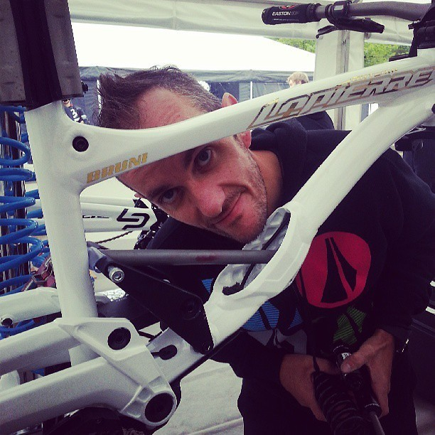 Loic Bruni's New Lapierre for World Cup Downhill Races - sspomer - Mountain Biking Pictures - Vital MTB