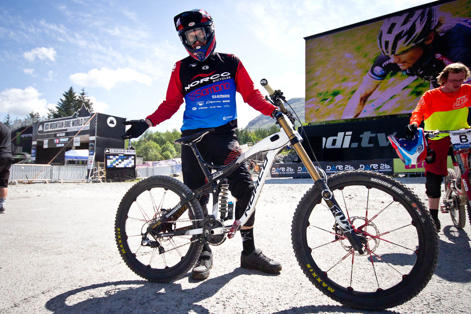 Bryn Atkinson's Norco Aurum - 24 Pro DH BIkes from Fort William World Cup - Mountain Biking Pictures - Vital MTB