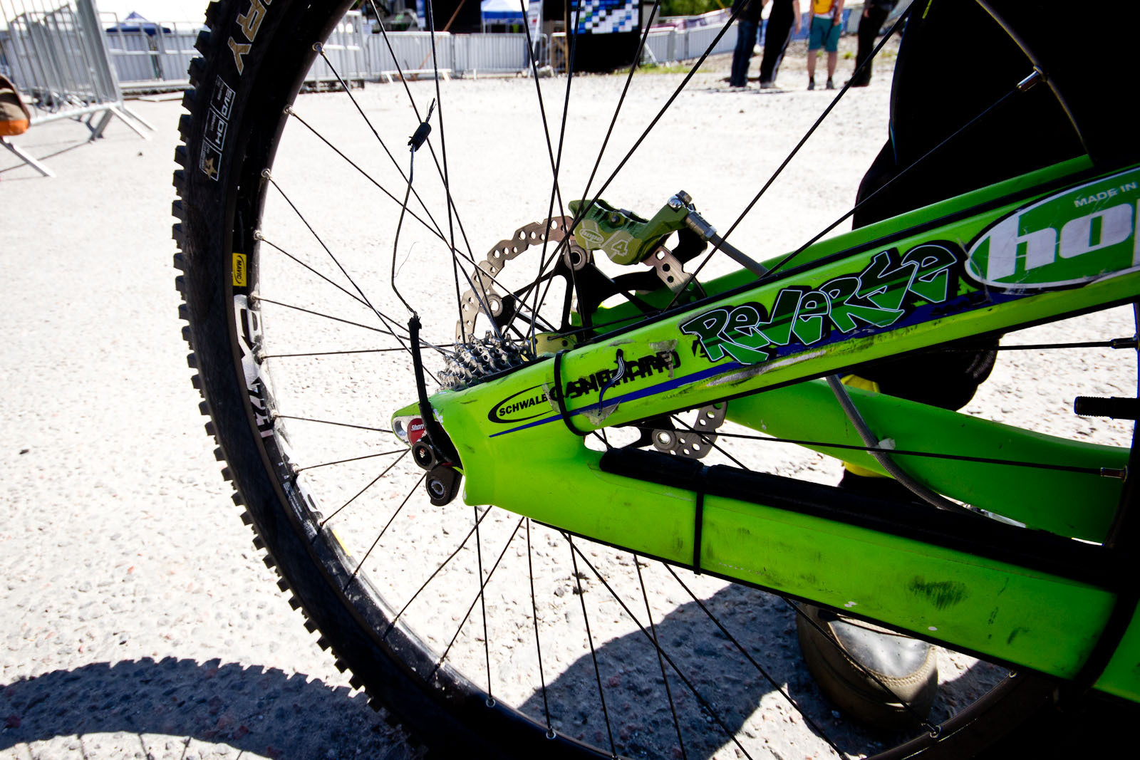 Nick Vink's Derailleur Carnage! - 24 Pro DH BIkes from Fort William World Cup - Mountain Biking Pictures - Vital MTB