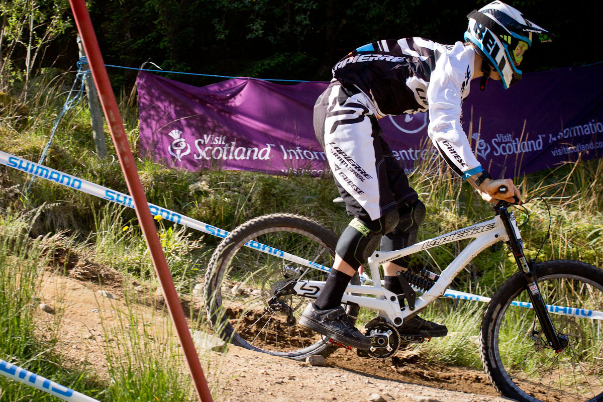 Sam Blenkinsop Lapierre DH 720 G-Out 2 at Fort William - G-Out Project: Fort William Scotland World Cup - Mountain Biking Pictures - Vital MTB