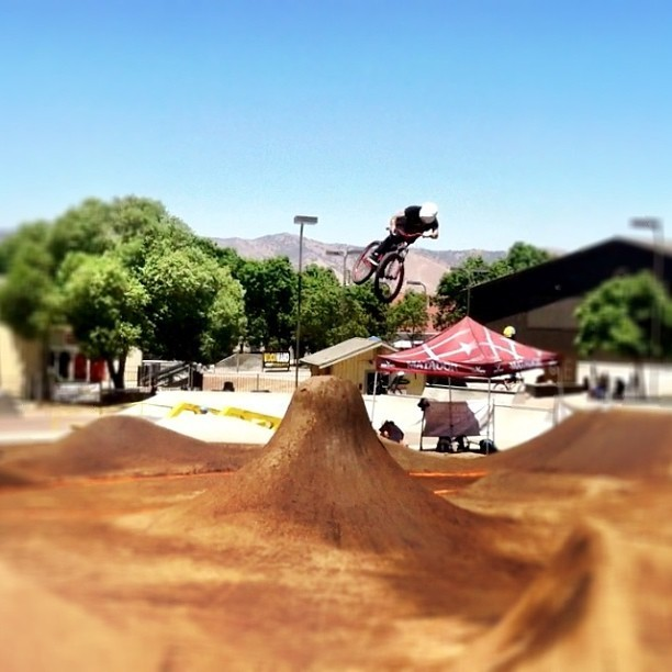 Jake Kinney Nipped Out at Platform 10 at Woodward West - Trail Photos You Should See - Mountain Biking Pictures - Vital MTB