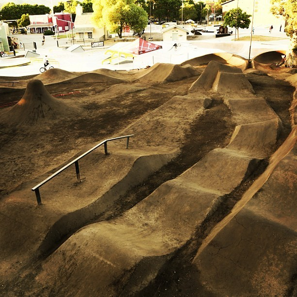 Platform 10 Jump and Pump Zone in the Junction at Woodward West - Trail Photos You Should See - Mountain Biking Pictures - Vital MTB
