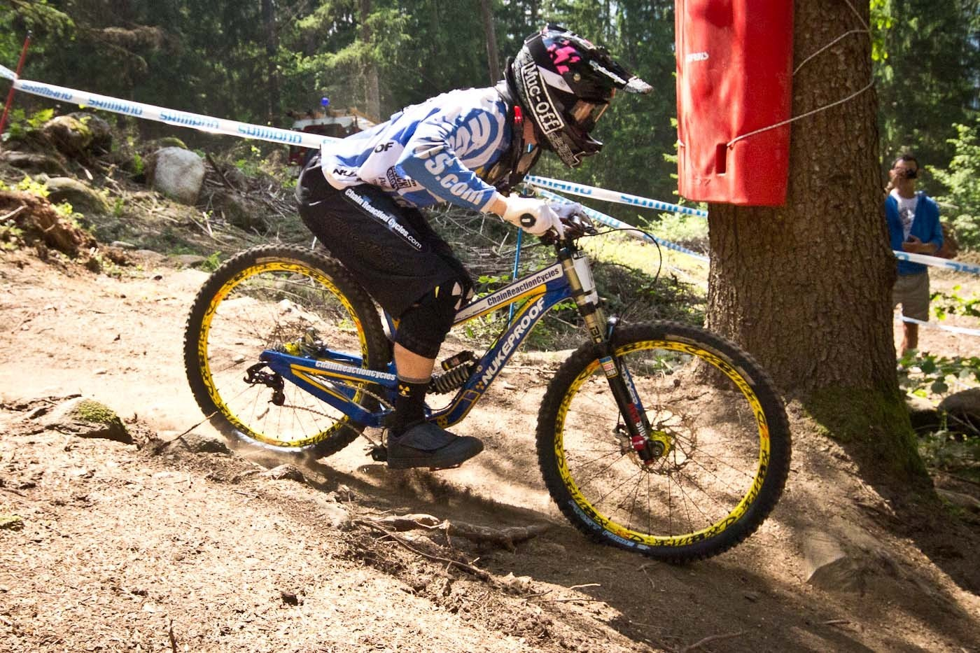 Nukeproof Pulse G-Out at Val di Sole - G-OUT PROJECT: 2013 Val di Sole World Cup - Mountain Biking Pictures - Vital MTB