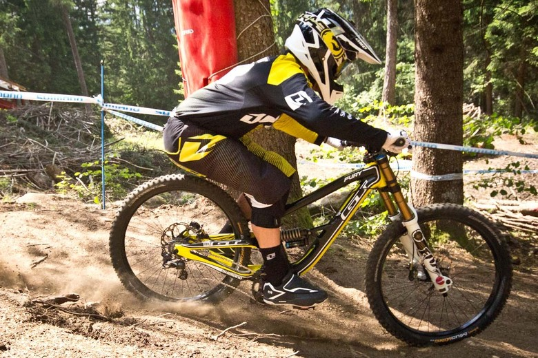 Marc Beaumont's 2014 GT Fury G-Out at Val di Sole