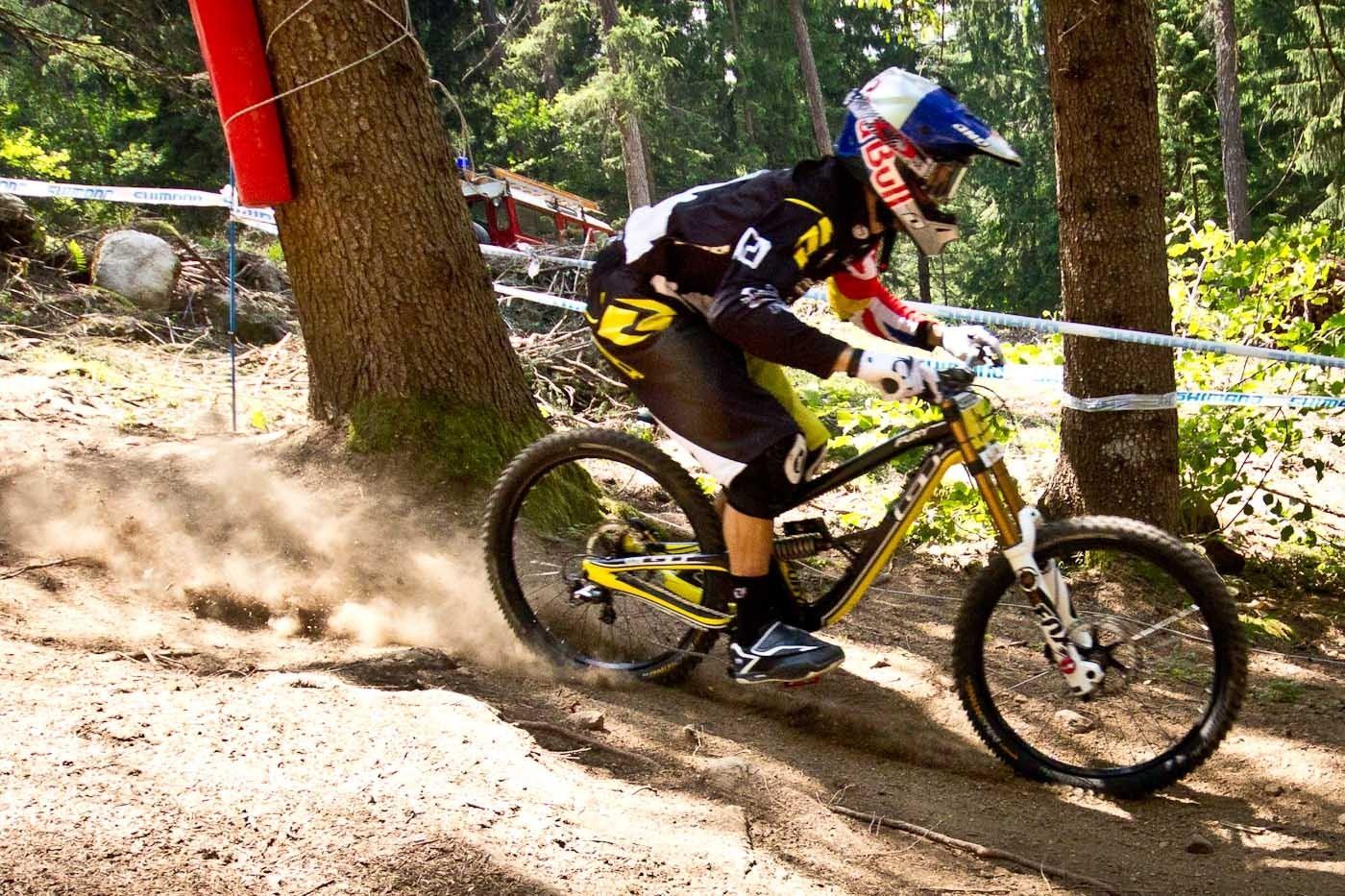 World events: Пробитые подвески прямиком из Val di Sole 2013 года