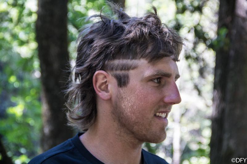Andrew Taylor with the Enduro Haircut - PIT BITS: 2013 Oregon Enduro Series Ashland Mountain Challenge - Mountain Biking Pictures - Vital MTB