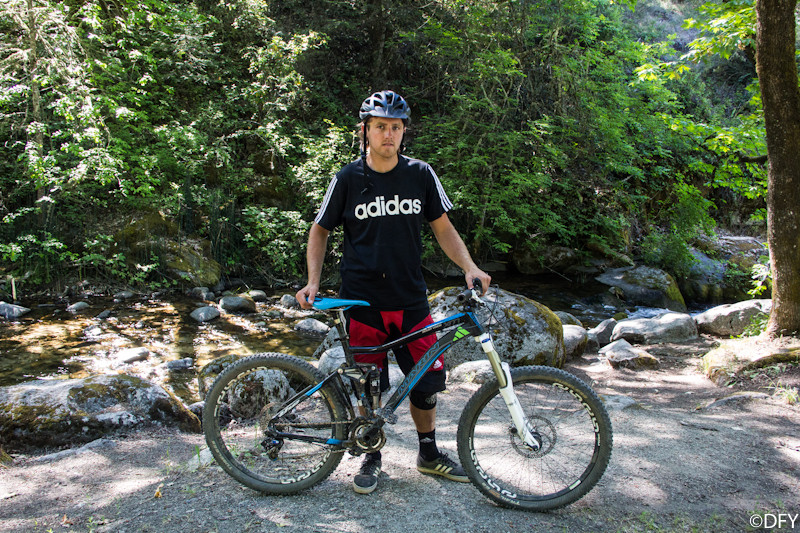 Andrew Taylor with his Marin Mount Vision at the Ashland Mountain Challenge - PIT BITS: 2013 Oregon Enduro Series Ashland Mountain Challenge - Mountain Biking Pictures - Vital MTB
