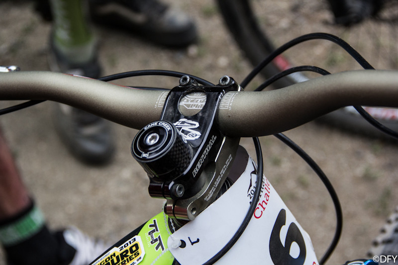 Jill Kintner's Renthal Bars and Stem on her Norco Sight Carbon - PIT BITS: 2013 Oregon Enduro Series Ashland Mountain Challenge - Mountain Biking Pictures - Vital MTB