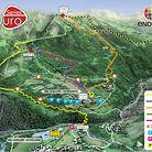 30,000 Feet of Descending - Enduro World Series Val d'Allos Course Map 2013