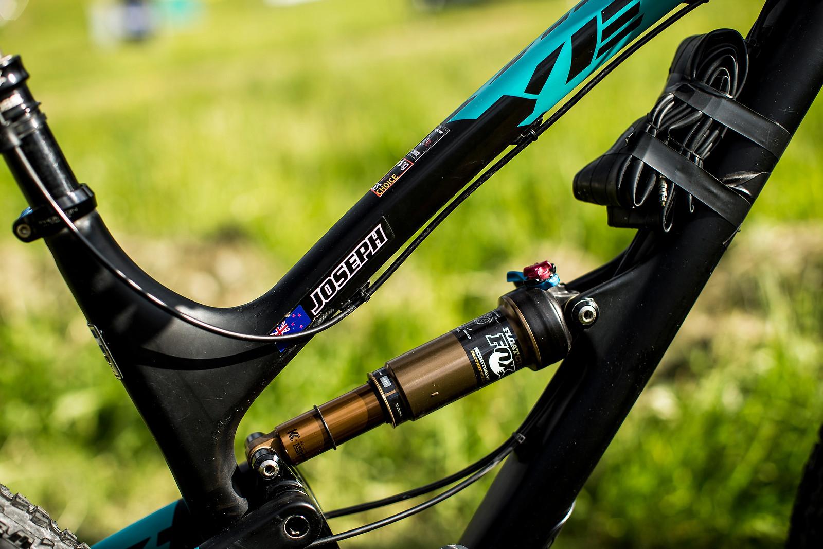 Rosara Joseph's Yeti SB66c at Val d'Allos Enduor World Series - Pit Bits: Enduro World Series Val d'Allos, France - Mountain Biking Pictures - Vital MTB