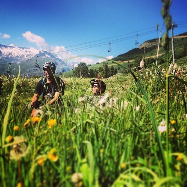 @World_Enduro Capturing the Intimate Moments - Enduro World Series Les 2 Alpes Pre-race Insight - Mountain Biking Pictures - Vital MTB
