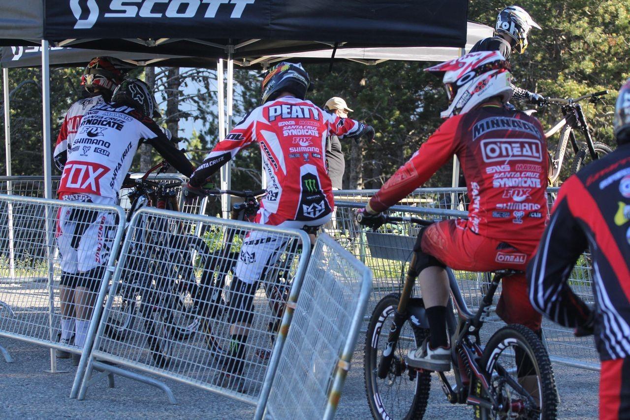 Santa Cruz Syndicate at Catalan Cup Andorra - Greg Minnaar Wins Andorra World Cup Warm Up Race - Catalan Cup - Mountain Biking Pictures - Vital MTB