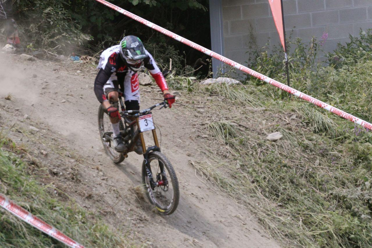 Josh Bryceland Catalan Cup Andorra - Greg Minnaar Wins Andorra World Cup Warm Up Race - Catalan Cup - Mountain Biking Pictures - Vital MTB