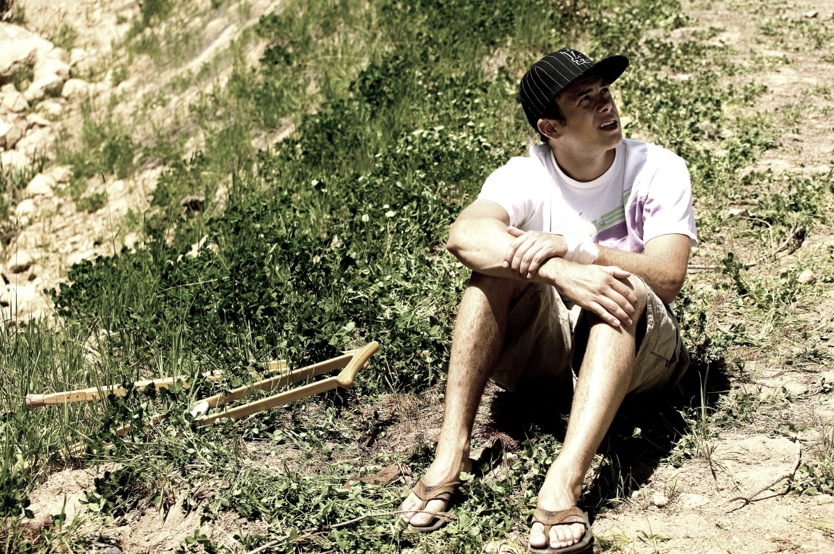 Cam Zink, Broken 2007 - Cam Zink, Pro Rider Photo Gallery - Mountain Biking Pictures - Vital MTB