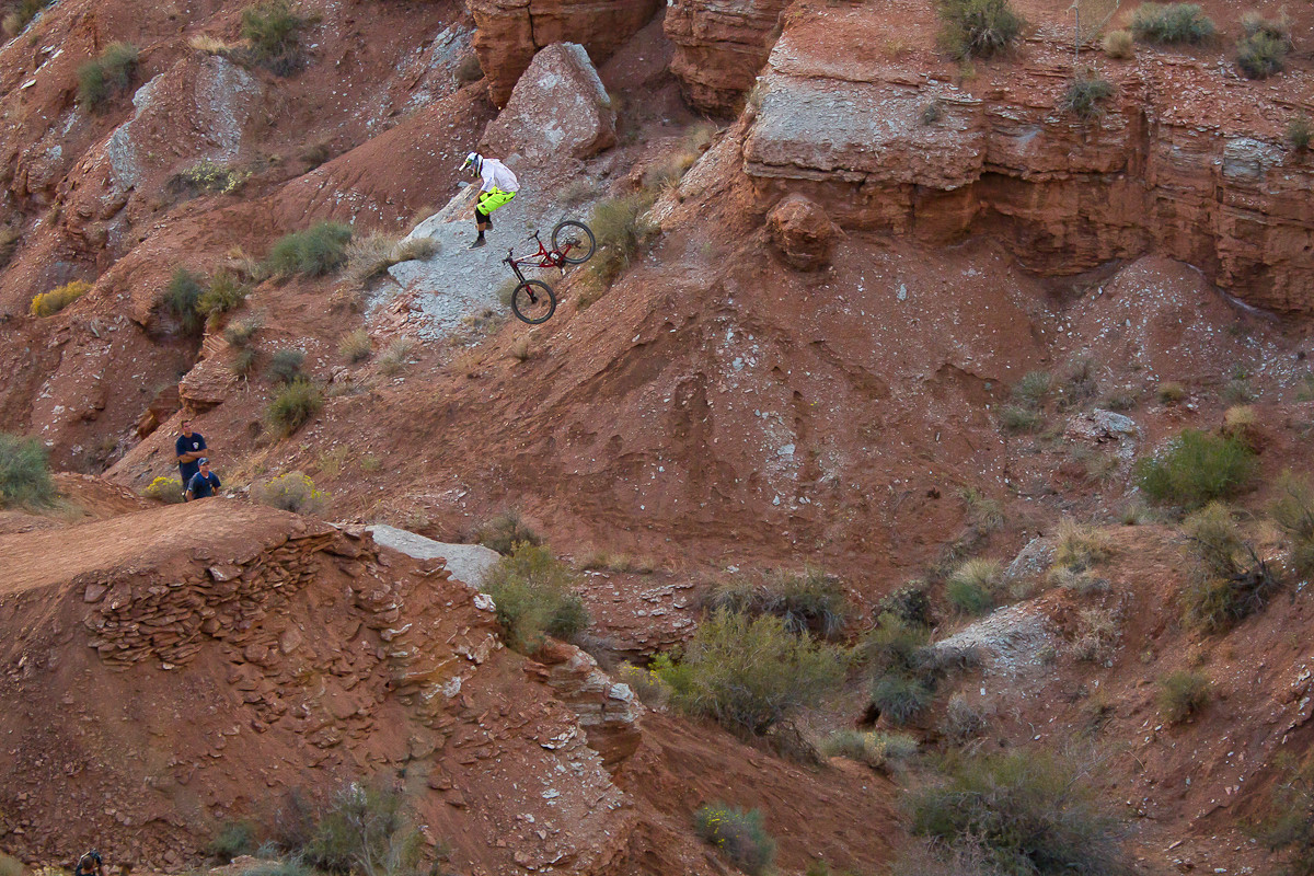 Cam Zink Red Bull Rampage Canyon Gap Crash 2012 - Cam Zink, Pro Rider Photo Gallery - Mountain Biking Pictures - Vital MTB