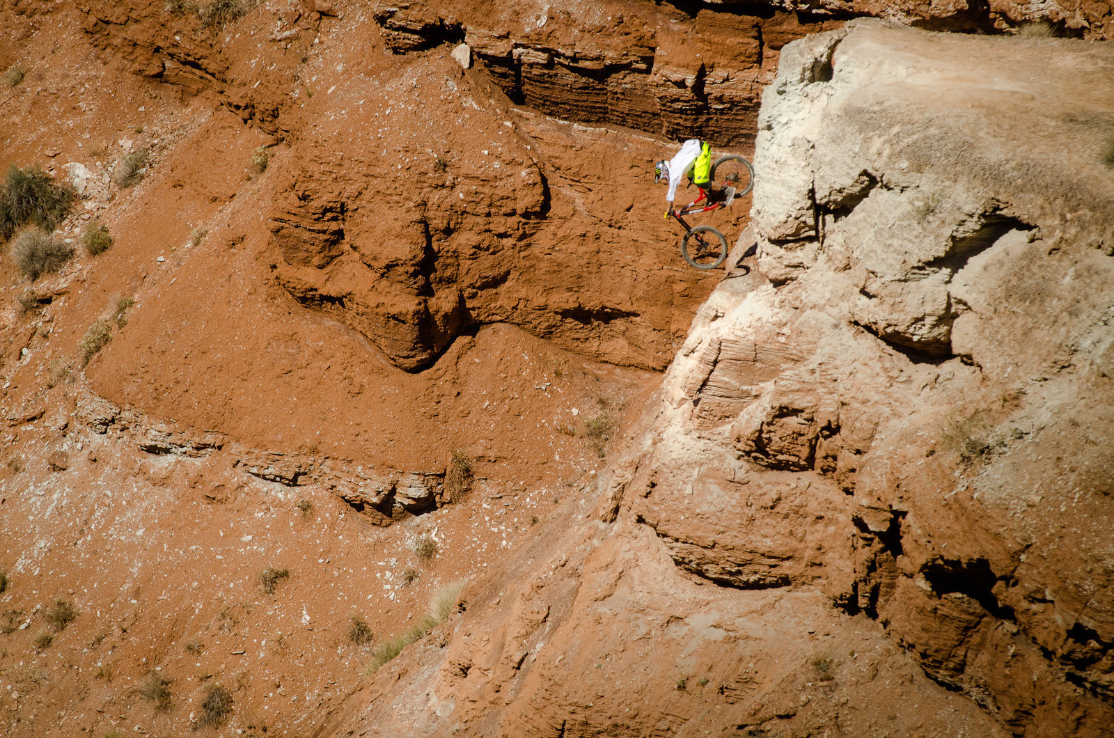 Cam Zink, Vert Drop-in at Red Bull Rampage 2012 - Cam Zink, Pro Rider Photo Gallery - Mountain Biking Pictures - Vital MTB