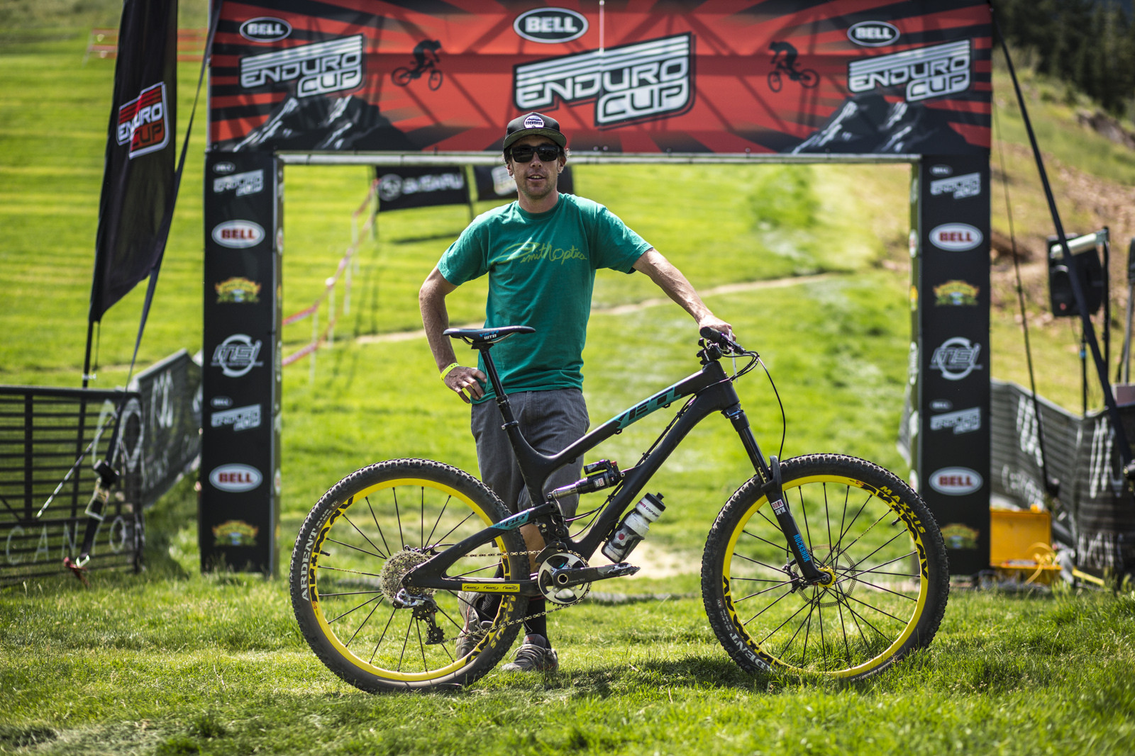 Nate Hills with his Yeti SB66c at Bell Enduro Cup at Canyons - Race Report, Photos and Video: Bell Enduro Cup at Canyons Resort - Mountain Biking Pictures - Vital MTB