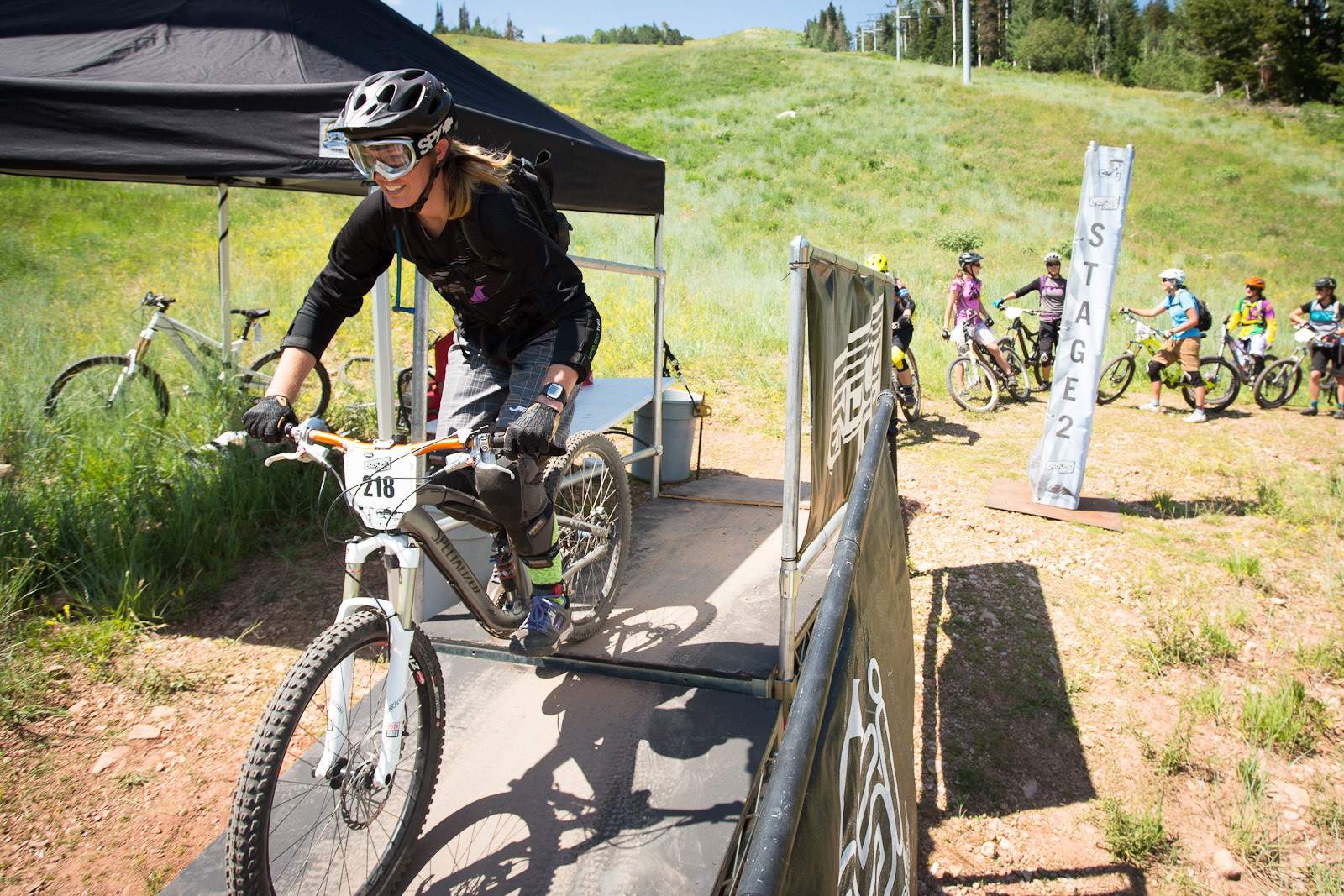 Start Gate, Bell Enduro Cup at Canyons Resort - Race Report, Photos and Video: Bell Enduro Cup at Canyons Resort - Mountain Biking Pictures - Vital MTB