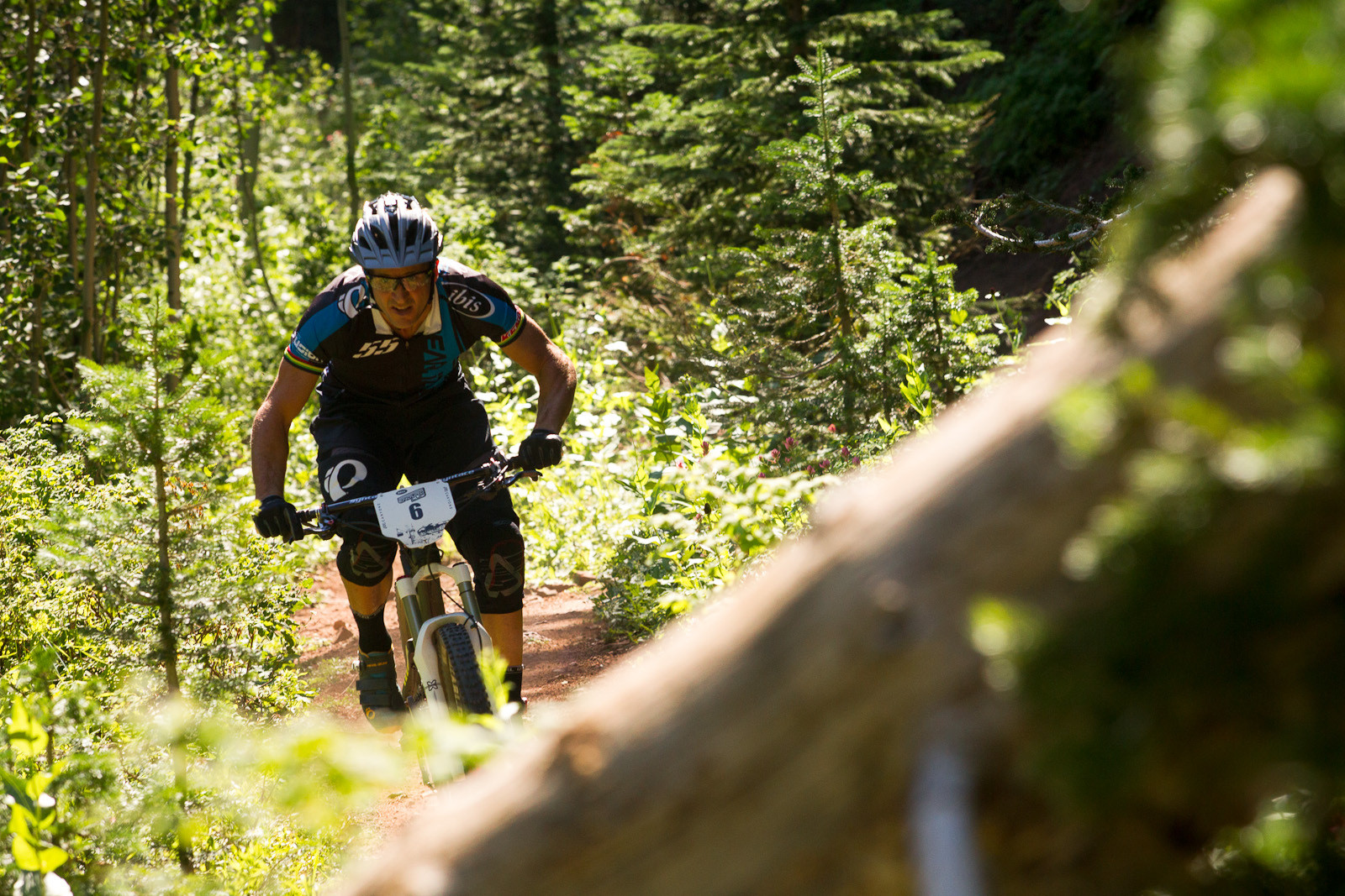 Brian Lopes, 2nd Place, Bell Enduro Cup at Canyons Resort - Race Report, Photos and Video: Bell Enduro Cup at Canyons Resort - Mountain Biking Pictures - Vital MTB