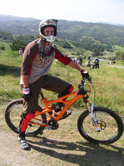 Brian Lopes, Ibis Mojo - Sea Otter Classic DH Bikes - Mountain Biking Pictures - Vital MTB