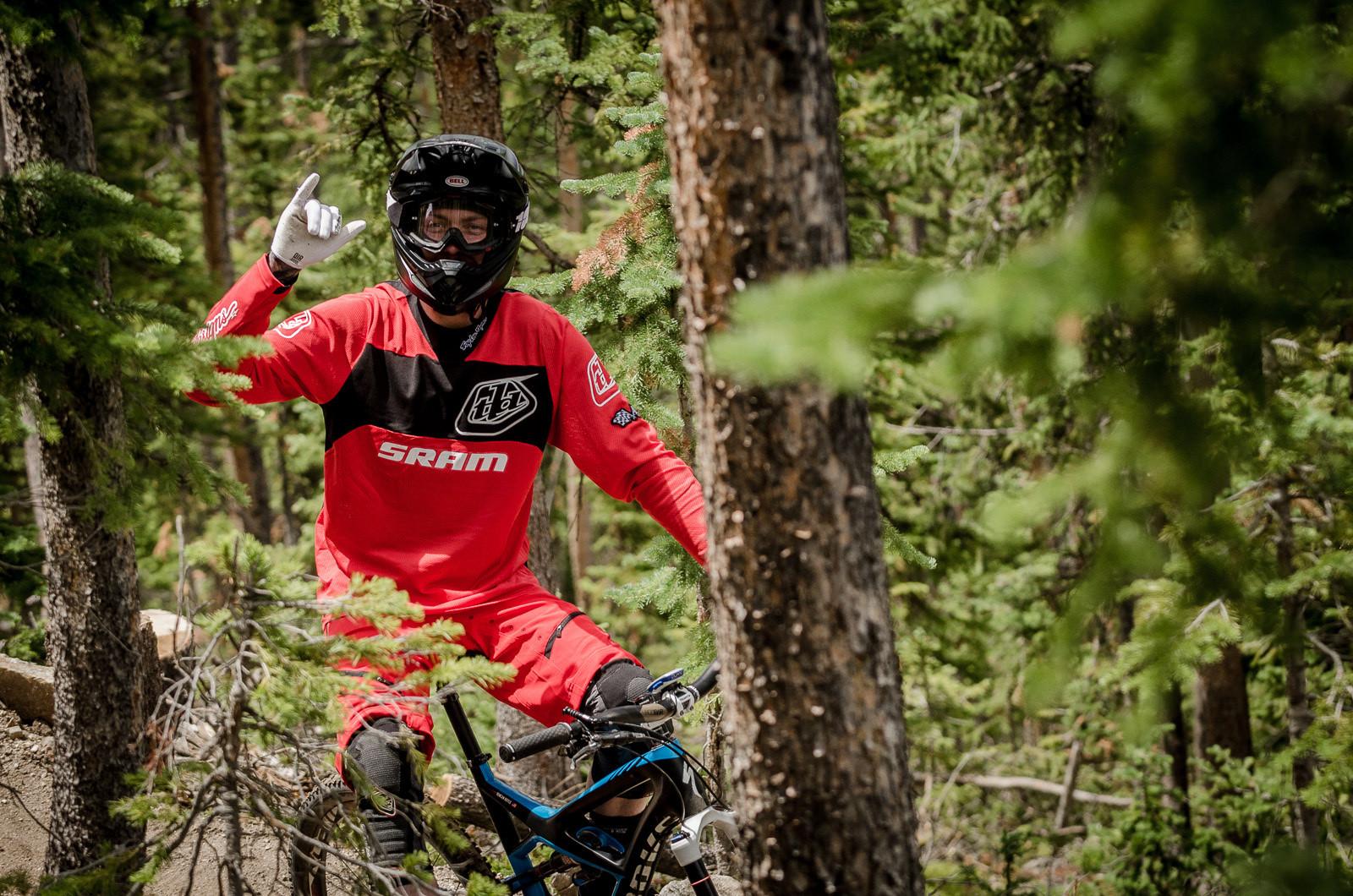 Duncan Riffle, Enduro World Series, Trestle Bike Park - Pit Bits and Action from the Enduro World Series at Trestle Bike Park - Mountain Biking Pictures - Vital MTB