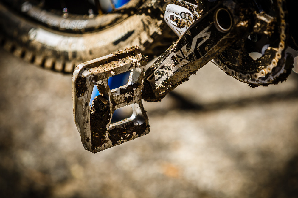 Brook MacDonald's Burgtec Penthouse MKIII Flats - PIT BITS: 2013 Andorra World Cup - Mountain Biking Pictures - Vital MTB