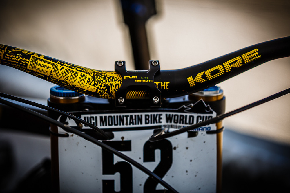 Evil to the Kore - PIT BITS: 2013 Andorra World Cup - Mountain Biking Pictures - Vital MTB