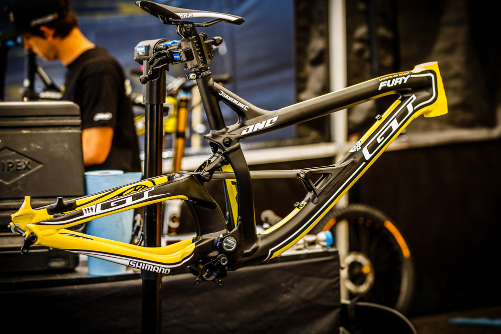 2014 GT Fury - PIT BITS: 2013 Andorra World Cup - Mountain Biking Pictures - Vital MTB