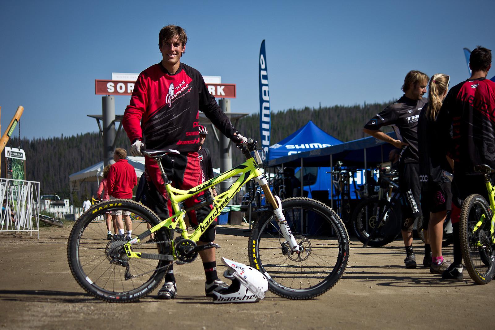 Winning Bike: Brian Buell's Banshee Rune - Winning Bike: Brian Buell's Banshee Rune - Mountain Biking Pictures - Vital MTB
