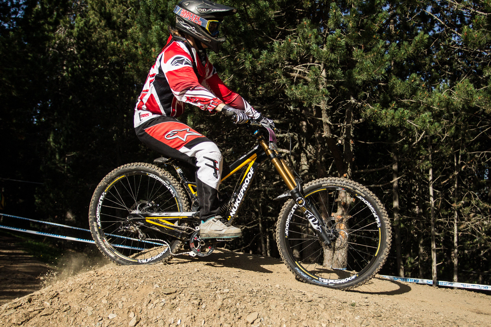 Nukeproof Pulse G-Out at Andorra World Cup - G-Out Project: 2013 Andorra World Cup - Mountain Biking Pictures - Vital MTB