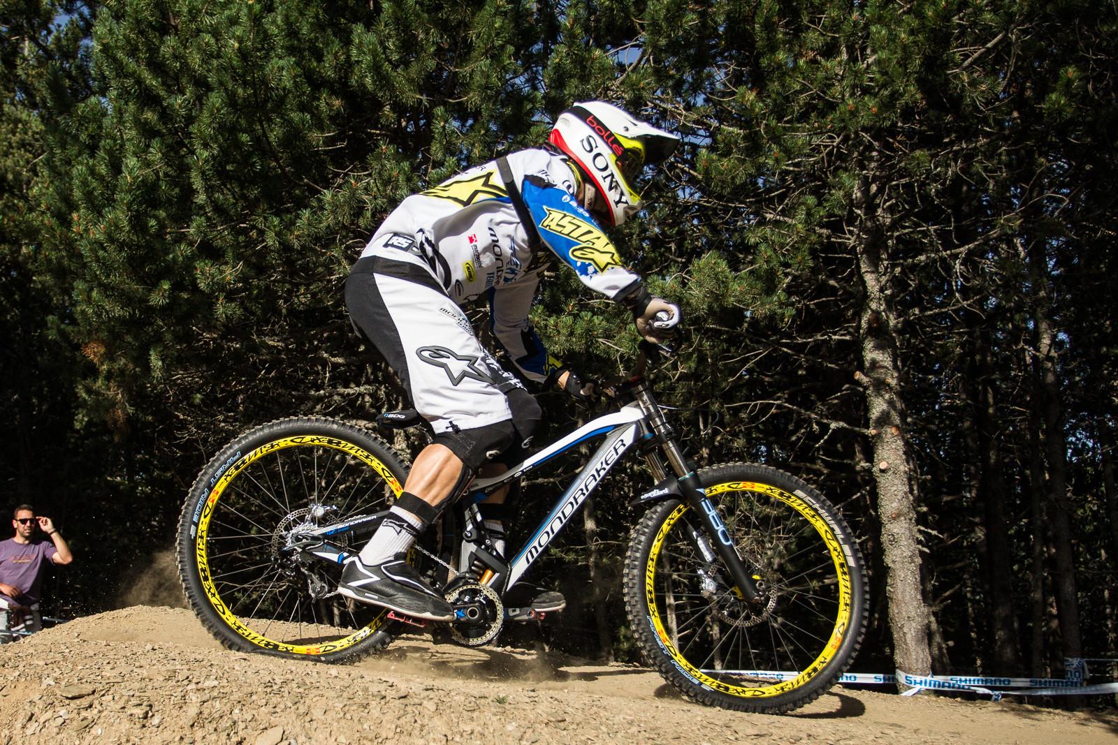 Mondraker Summum G-Out at Andorra World Cup - G-Out Project: 2013 Andorra World Cup - Mountain Biking Pictures - Vital MTB
