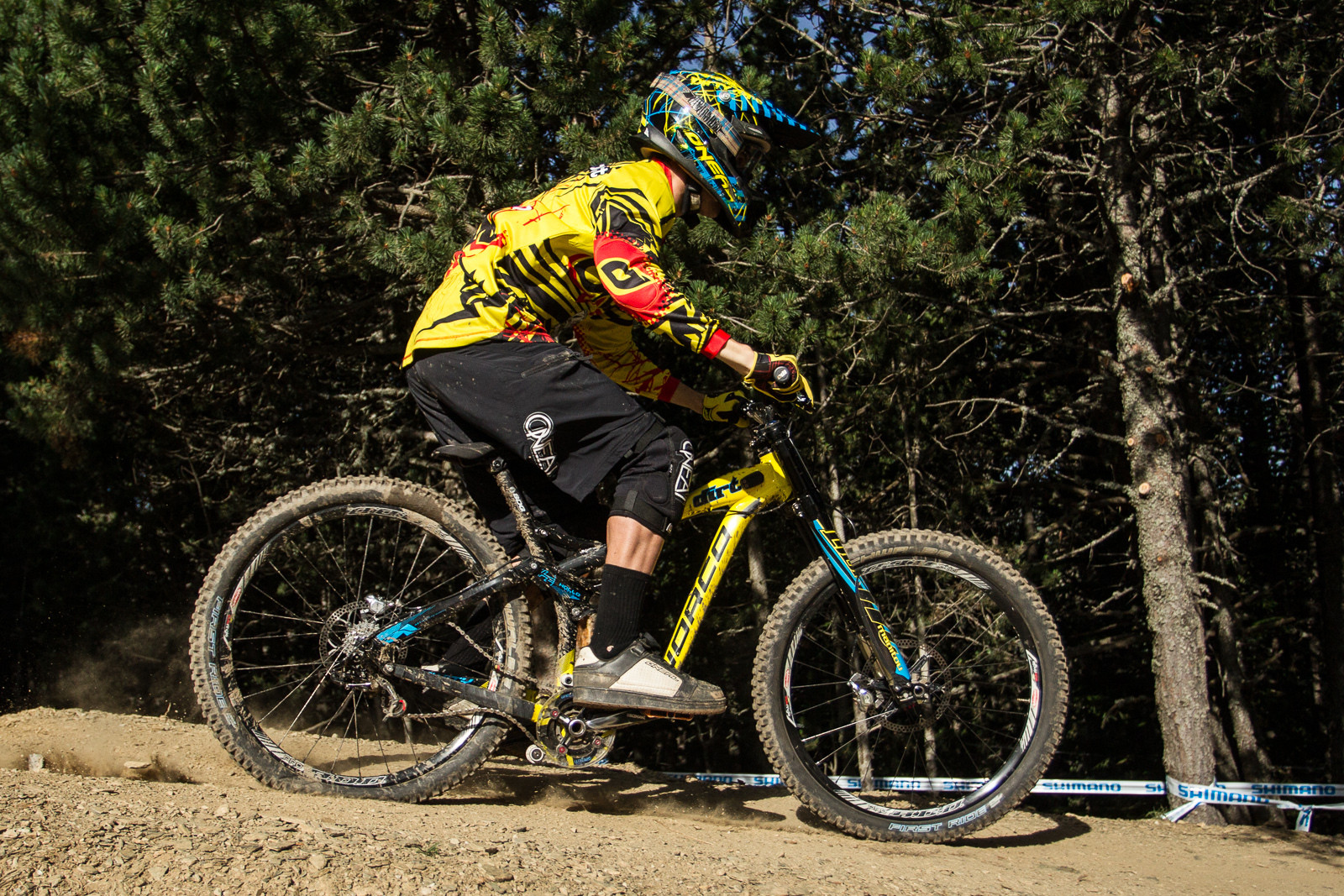 Norco 27.5 DH G-Out at Andorra World Cup - G-Out Project: 2013 Andorra World Cup - Mountain Biking Pictures - Vital MTB