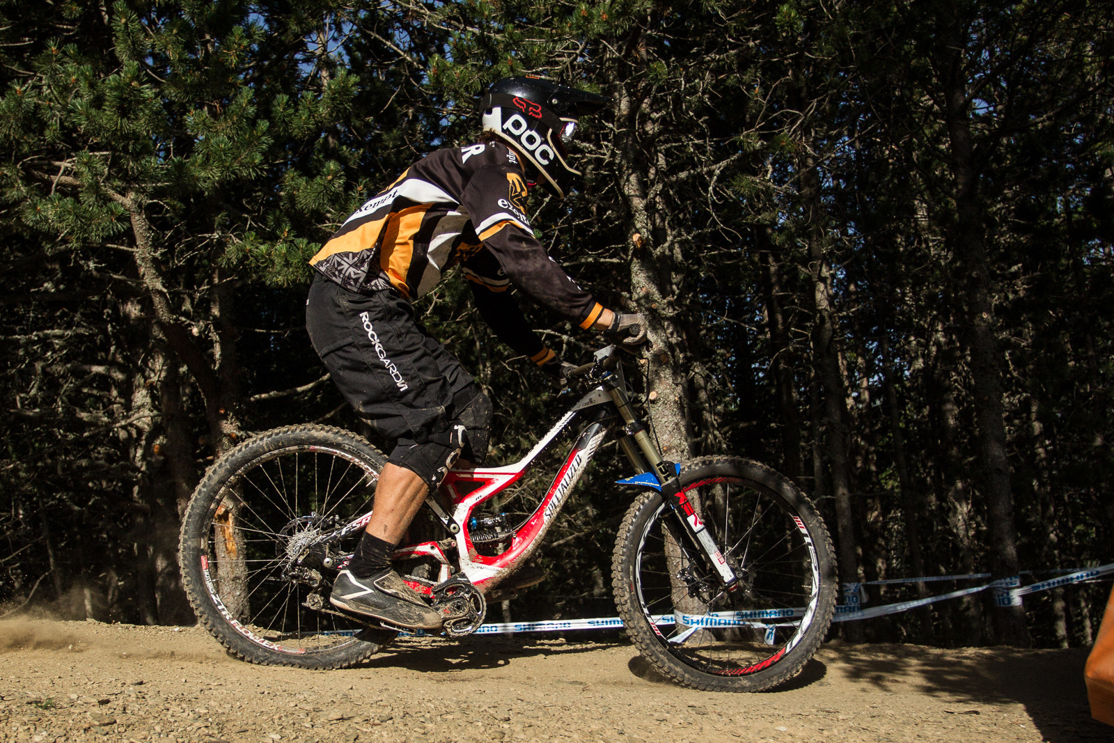Specialized Demo 8 G-Out at Andorra World Cup - G-Out Project: 2013 Andorra World Cup - Mountain Biking Pictures - Vital MTB