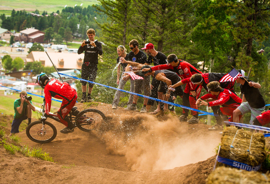 Walker Shaw, Dual Slalom National Champs at Angel Fire - 2013 U.S. National Championship Downhill Qualifying and Dual Slalom Photos - Mountain Biking Pictures - Vital MTB