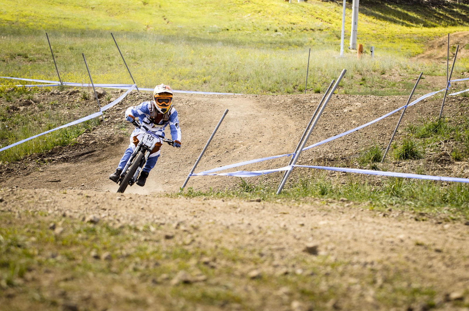 Joey Foresta Junior 11-12 National Downhill Champion - U.S. National Championship Downhill Finals Photos - Mountain Biking Pictures - Vital MTB