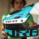 Custom Giro / Yeti Helmet at Mont Sainte Anne