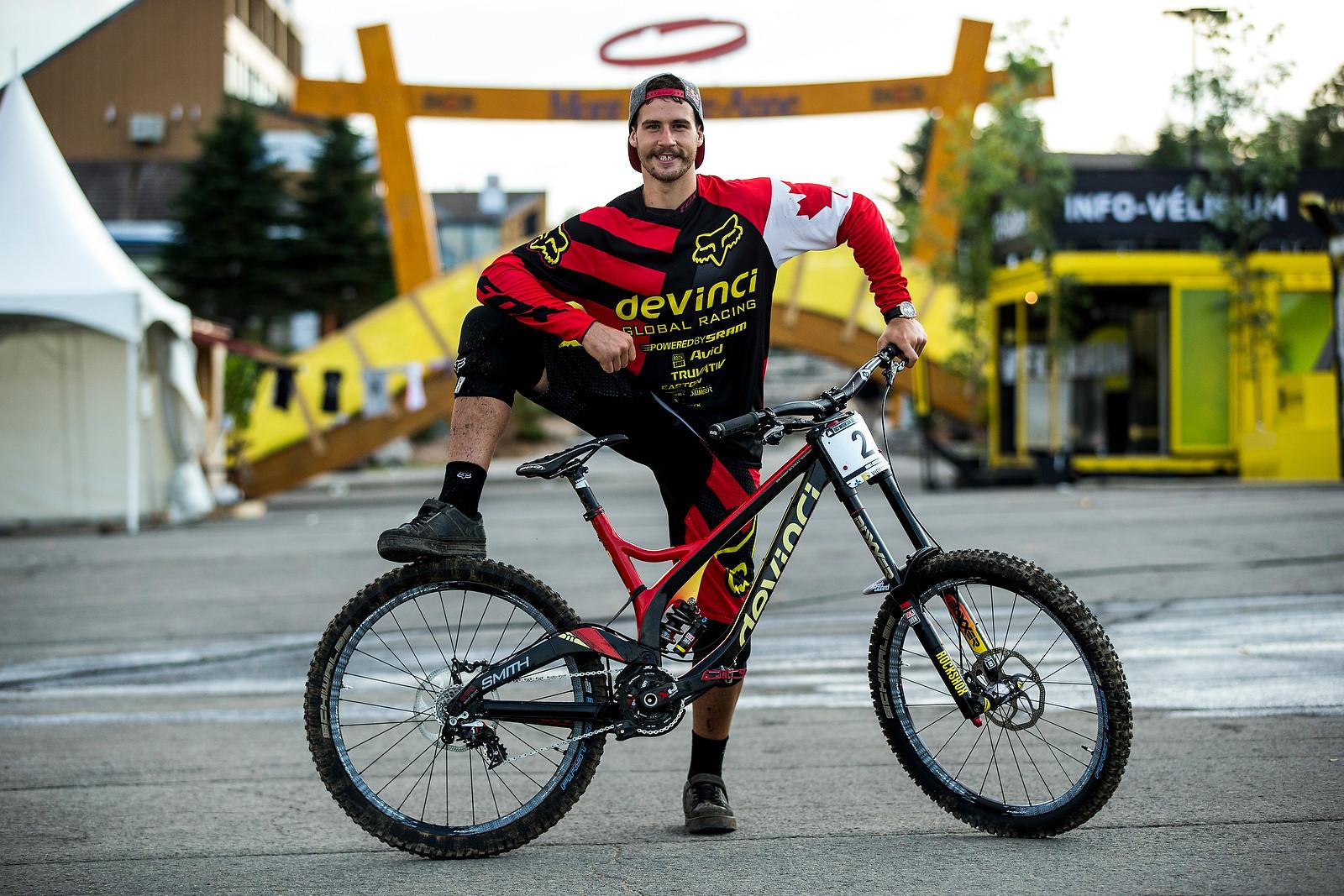 WINNING BIKE: Steve Smith's Devinci Wilson Carbon - WINNING BIKE: Steve Smith's Devinci Wilson Carbon - Mountain Biking Pictures - Vital MTB