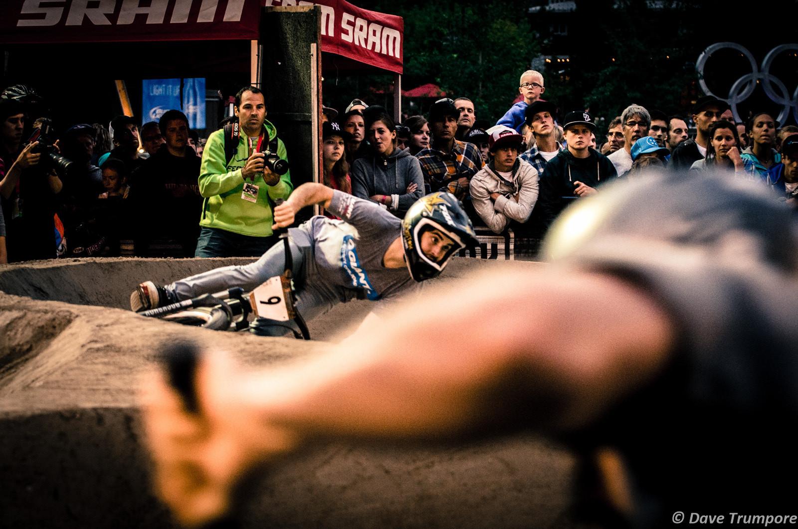 Danny Hart & Anton Thelander, Pumptrack Challenge - Crankworx Ultimate Pumptrack Challenge Action - Mountain Biking Pictures - Vital MTB