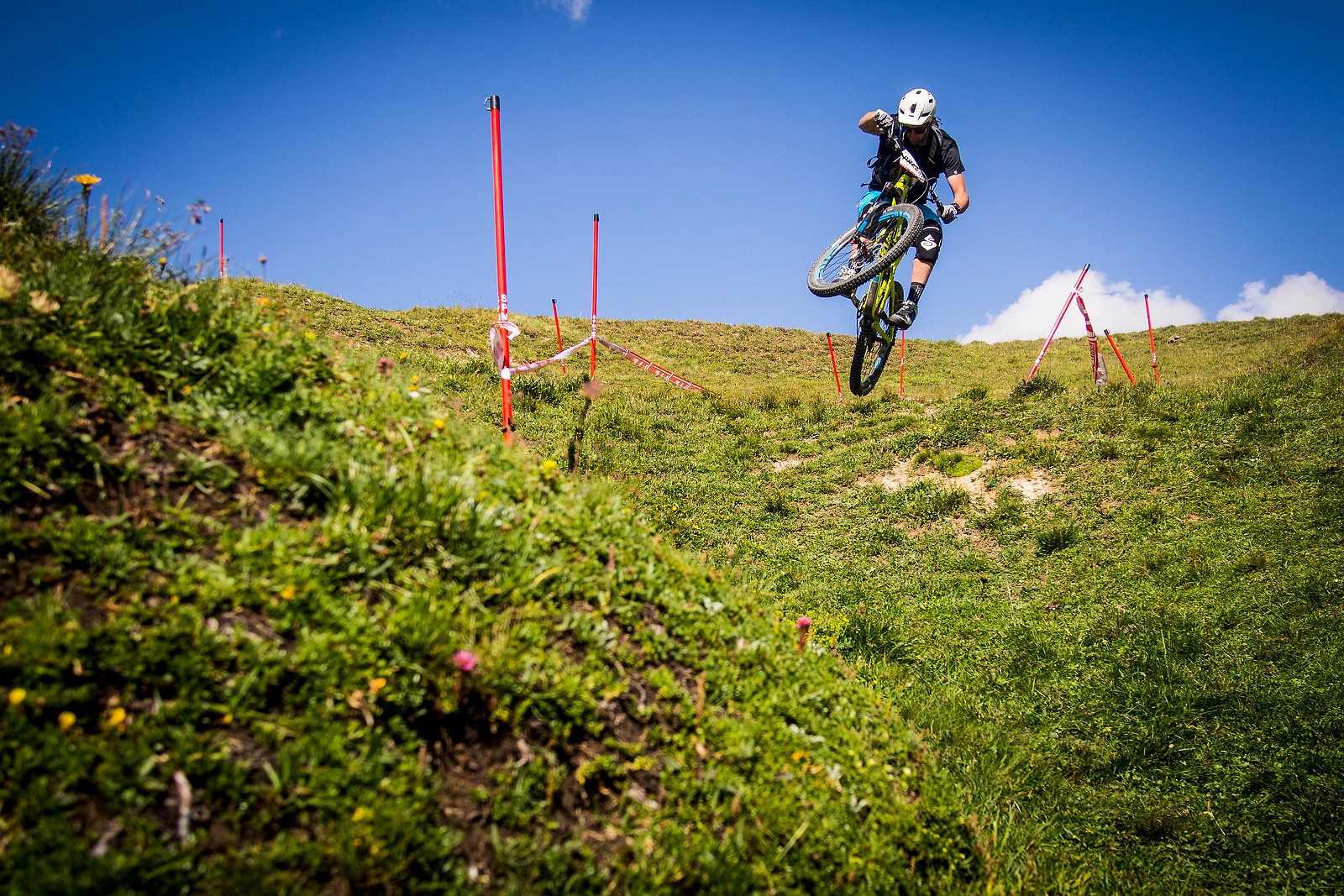 Chris Ball Getting Some at EWS 6, Val d'Isere - 2013 Enduro World Series 6, Enduro Des Nations Photo Recon - Mountain Biking Pictures - Vital MTB