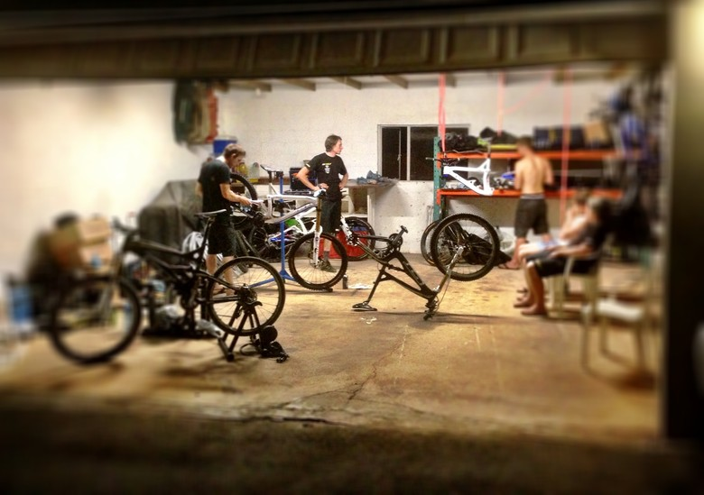 GT World Champs Bike Build Up