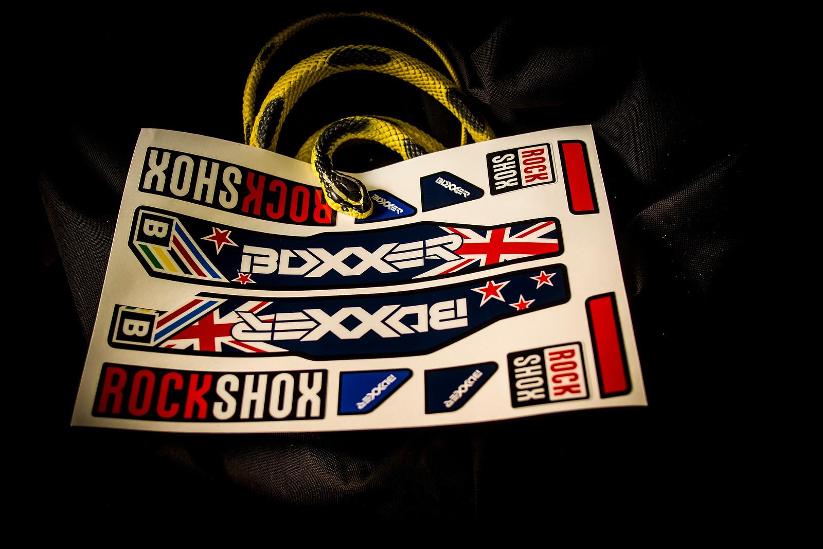 Sam Blenkinsop's BoXXer Decals - World Championships Bikes and Gear 2013 - Mountain Biking Pictures - Vital MTB