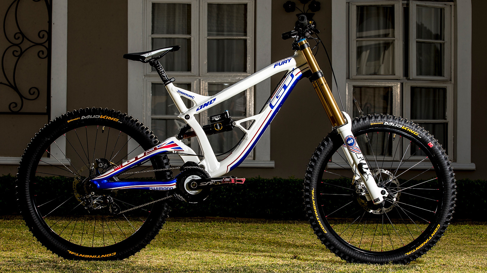 Gee Atherton's World Championship GT Fury - World Championships Bikes and Gear 2013 - Mountain Biking Pictures - Vital MTB