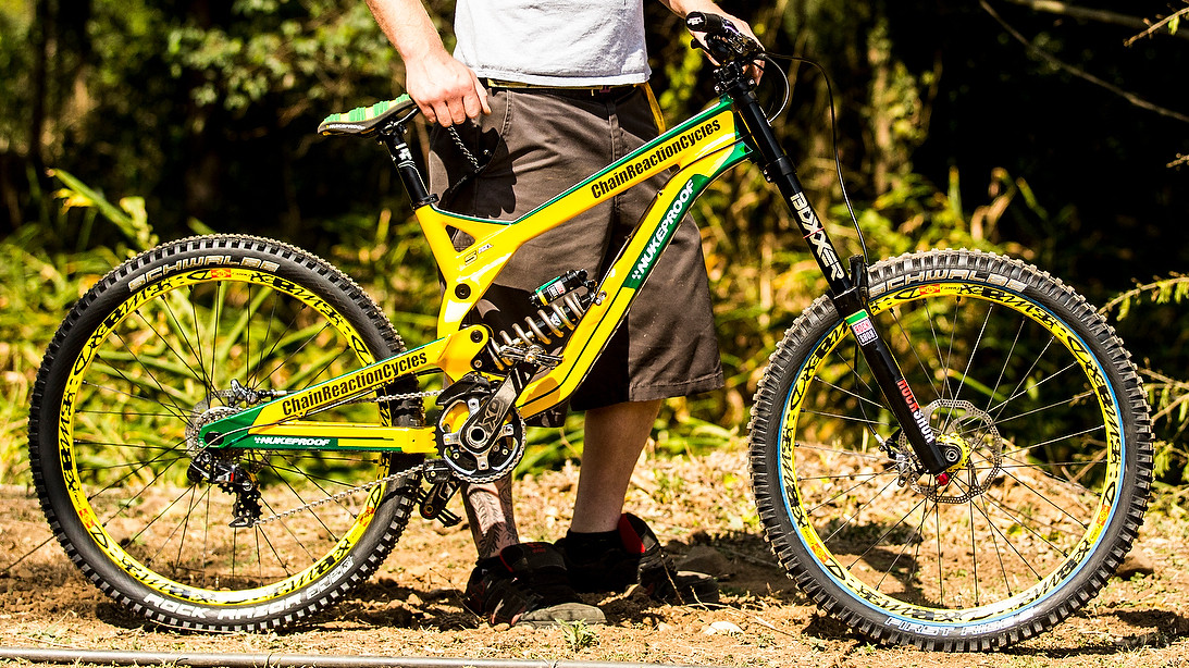 Sam Hill's World Championship Nukeproof Pulse - World Championships Bikes and Gear 2013 - Mountain Biking Pictures - Vital MTB