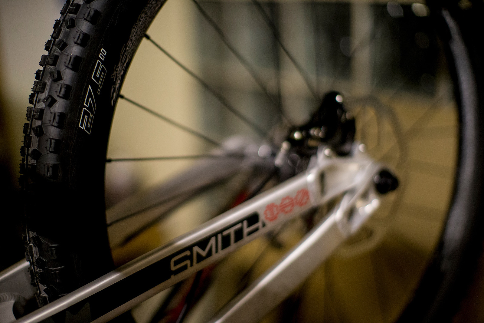 Steve Smith's Prototype 27.5 Bike Rear End - World Championships Bikes and Gear 2013 - Mountain Biking Pictures - Vital MTB