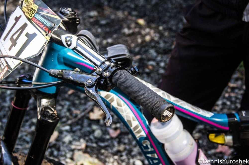 Kelli Emmett's Giant Intrigue 27.5 - PIT BITS: North American Enduro Tour, Mount Hood - Mountain Biking Pictures - Vital MTB