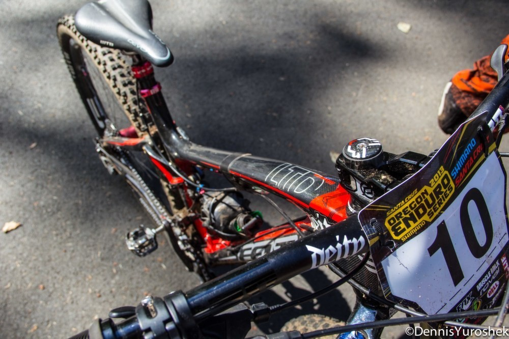 Kyle Warner's Deity Cockpit - PIT BITS: North American Enduro Tour, Mount Hood - Mountain Biking Pictures - Vital MTB