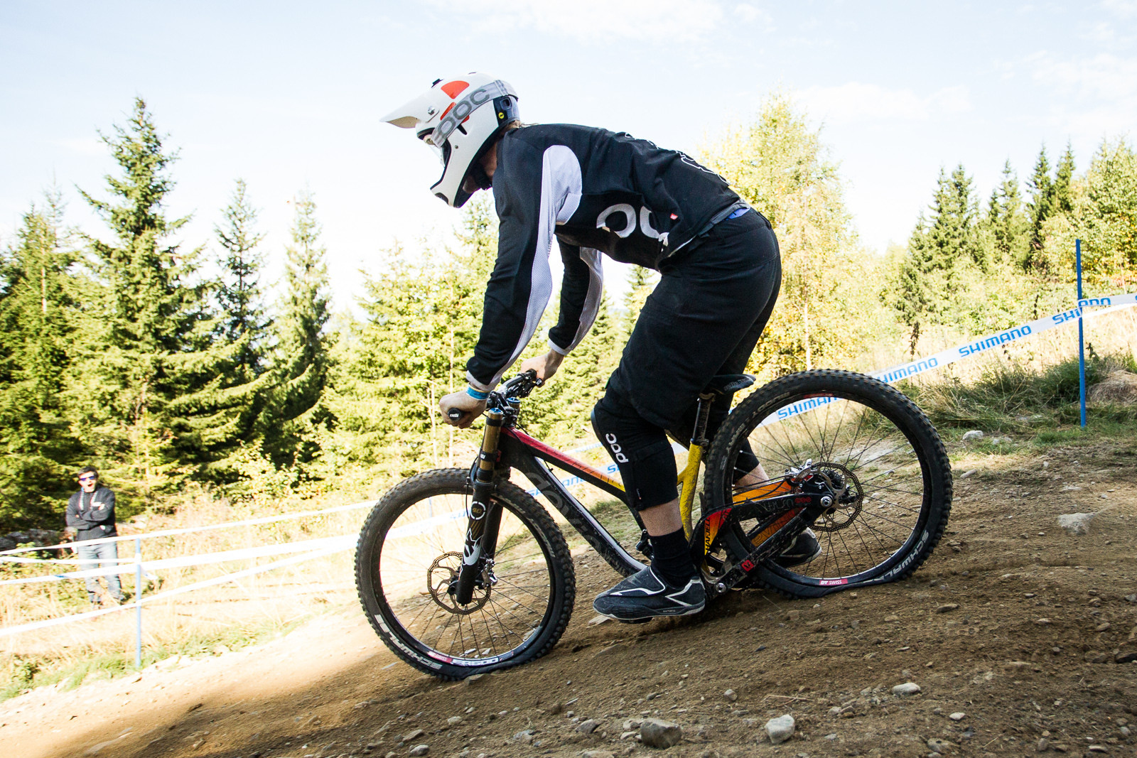 G-Out Project, Hafjell World Cup - Devinci Wilson Carbon Squished to the Max! - G-OUT PROJECT: Hafjell World Cup - Mountain Biking Pictures - Vital MTB