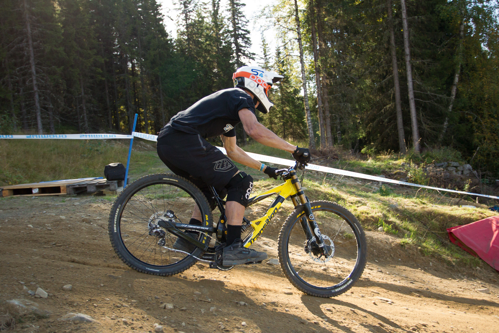 Transition TR450 Bottomed Out - G-OUT PROJECT: Hafjell World Cup - Mountain Biking Pictures - Vital MTB